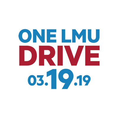 LMU One LMU Drive day of giving logo