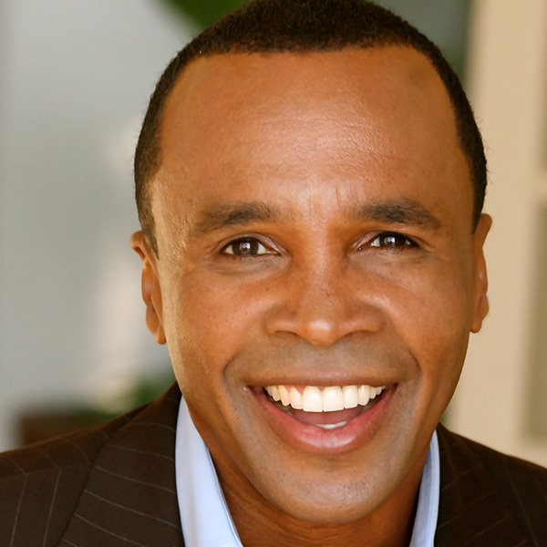Boxing legend Sugar Ray Leonard