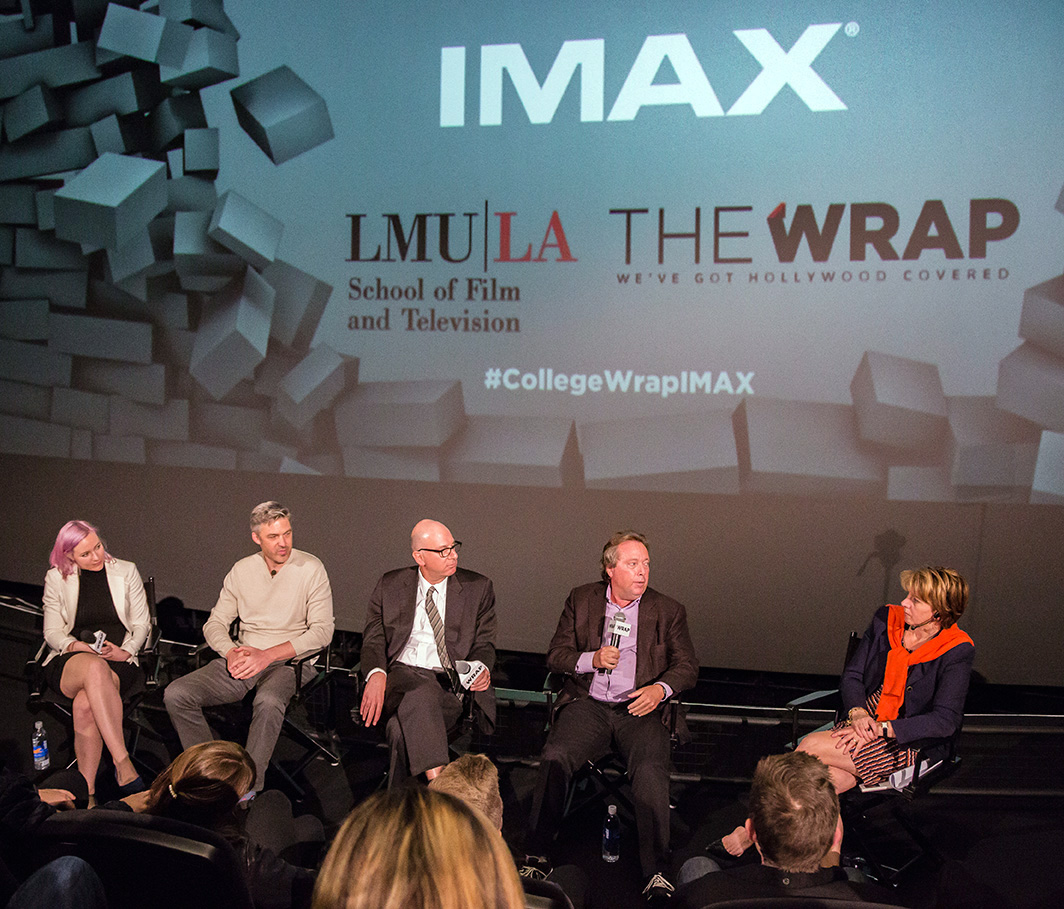 Entertainment Industry Professionals Share Advice with LMU SFTV Students at IMAX